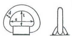 схема приварной петли
